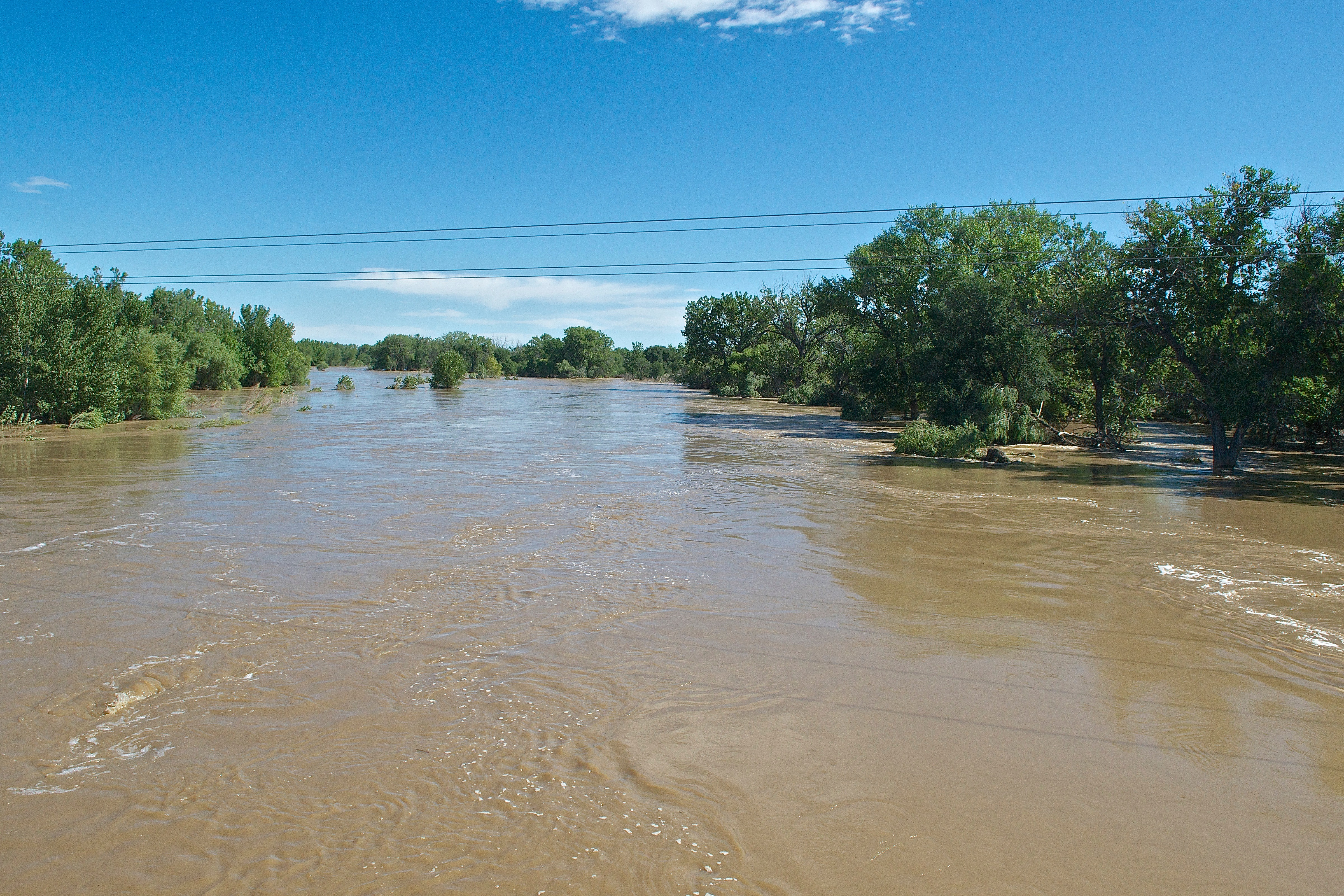 Downstream Platte at Atwood Bridge (Near 17,000 cfs) (9-18-13)